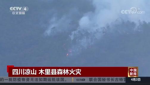 [中国新闻]四川凉山 木里县森林火灾
