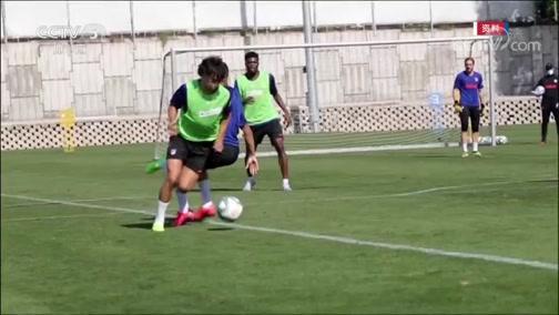 [西甲]马竞小将菲利克斯训练受伤 将缺席比赛