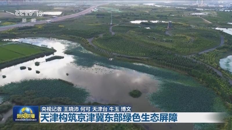 【绿水青山就是金山银山】天津构筑京津冀东部绿色生态屏障