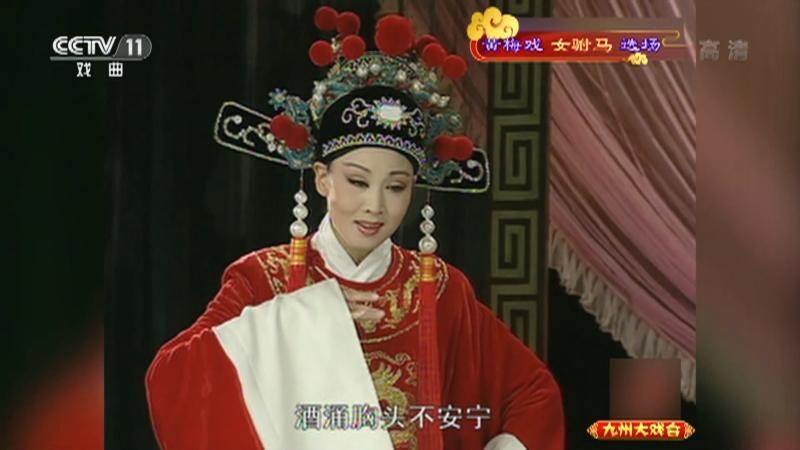 黄梅戏女驸马选场 主演:韩再芬 李萍 九州大戏台 20210107