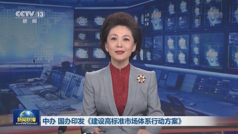 中办 国办印发《建设高标准市场体系行动方案》