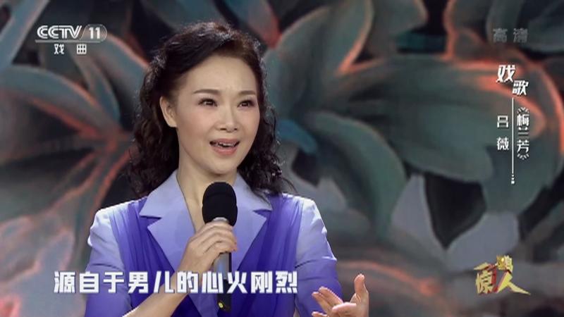 戏歌梅兰芳 主演:吕薇 一鸣惊人