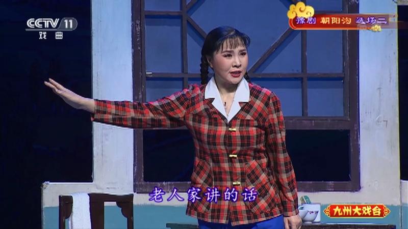 豫剧朝阳沟选场二 主演:杨红霞 盛红林 九州大戏台 20210418