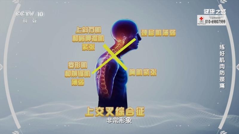 《健康之路》 20210520 练好肌肉防颈痛