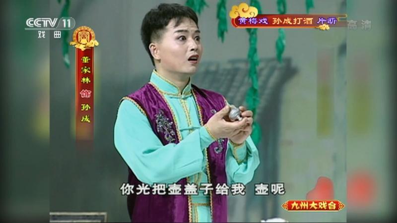 黄梅戏孙成打酒片断 主演:左胜利 董家林 郑玉兰 九州大戏台 20210523
