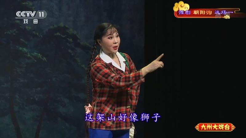 豫剧朝阳沟选场一 主演:杨红霞 盛红林 九州大戏台 20210705