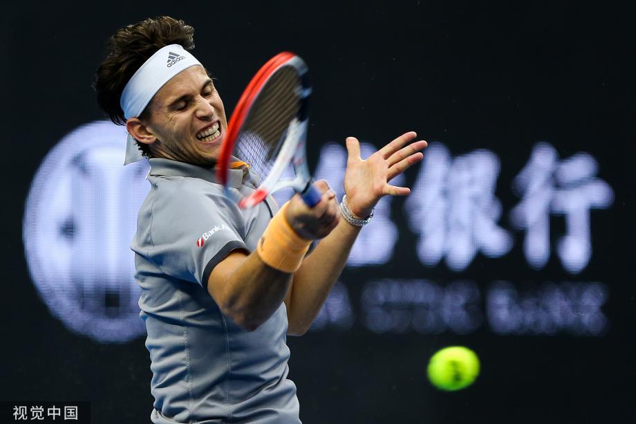 [圖]蒂姆苦戰三盤逆轉卡恰諾夫 首進中網男單決賽