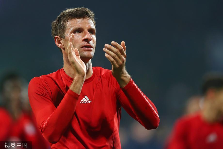 [图]穆勒89分钟绝杀 拜仁客场2比1逆转淘汰乙级队