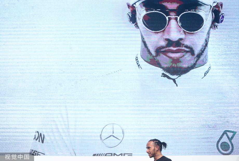 [图]巴西站-汉密尔顿:2021或将迎来最好的F1时代