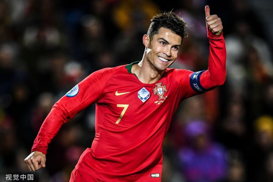[图]欧预赛-C罗帽子戏法 葡萄牙6-0大捷