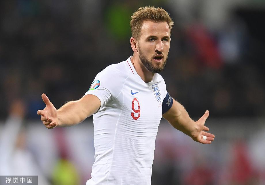 [图]欧预赛-凯恩传射拉师傅破门 英格兰4-0科索沃