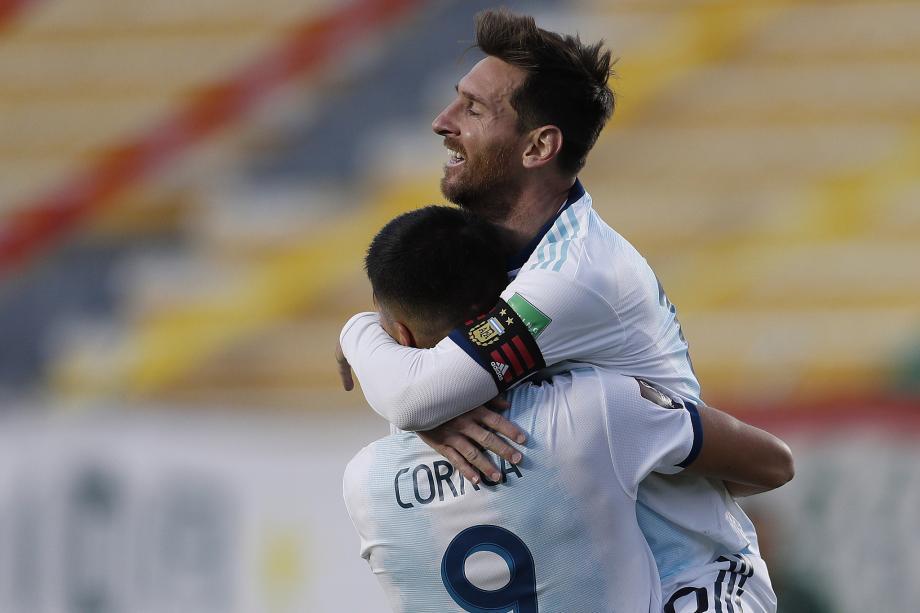 世预赛-劳塔罗传射 梅西率队阿根廷2-1胜玻利维亚