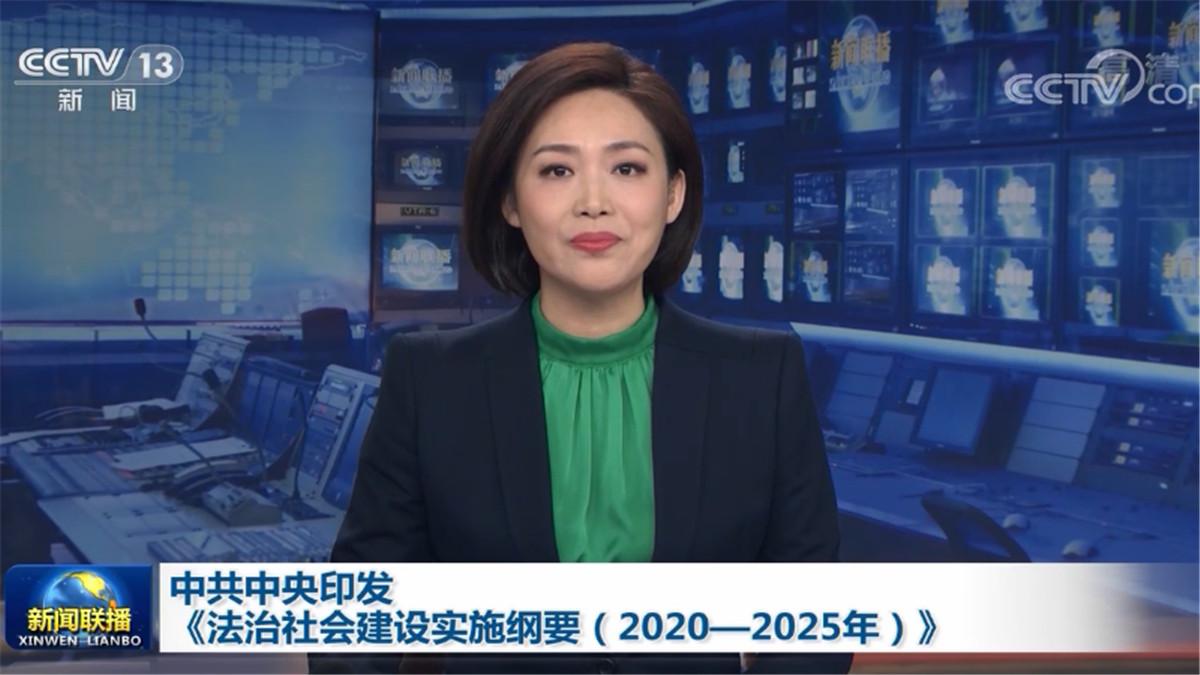 中共中央印发《法治社会建设实施纲要(2020—2025年)》