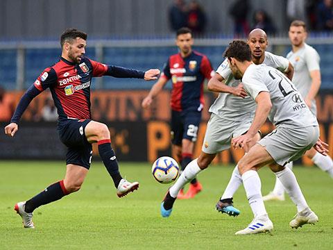 [天下足球]客场战平热那亚 罗马暂居联赛第五