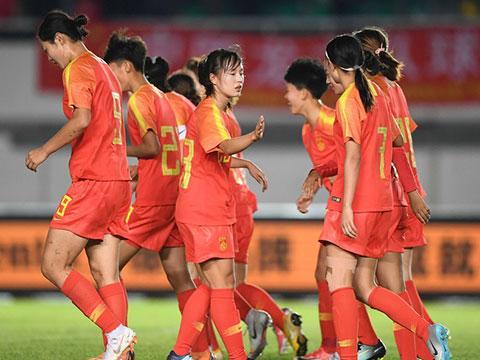 [女足]U19厦门国际女足锦标赛:中国4-0越南 集锦