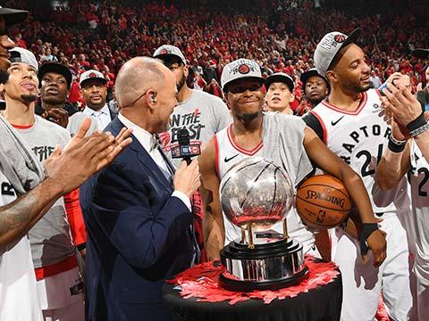 [NBA]后来居上 多伦多猛龙首次杀入总决赛