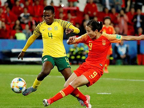 [女足世界杯]小组赛B组:南非VS中国 完整赛事