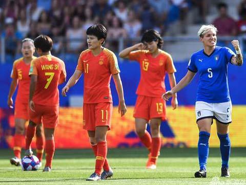 [女足世界杯]1/8决赛:意大利VS中国 比赛回顾