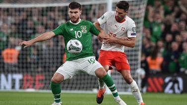 [图]欧洲杯预选赛:爱尔兰1-1战平瑞士暂列首位