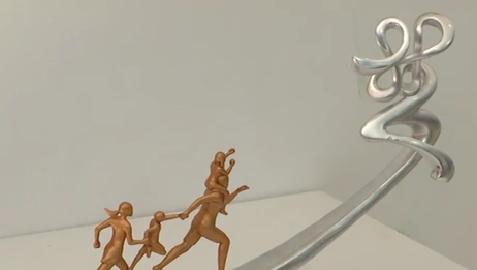 国内外雕塑作品为海沧献上丰收贺礼[今日视区 2019.09.18] 00:01:31