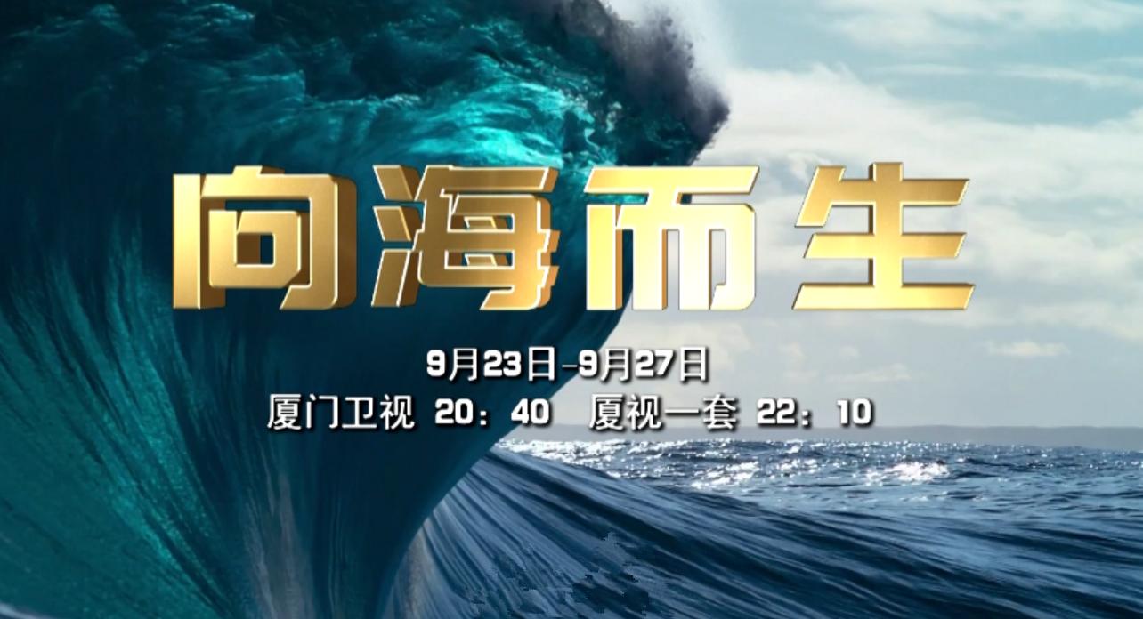 厦门广电大型电视系列片《向海而生》今晚播出! 00:01:06