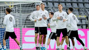 [图]2019足球友谊赛前瞻:德国队训练备战