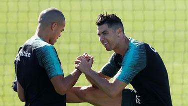 [图]2020欧洲杯预选赛前瞻 葡萄牙训练备战