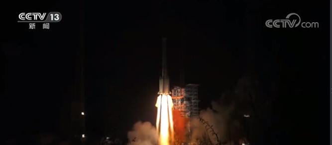 中国航天迎来开门红 天通一号03星成功发射