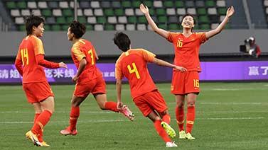 [足球之夜]20210417 决战 中国女足晋级奥运会