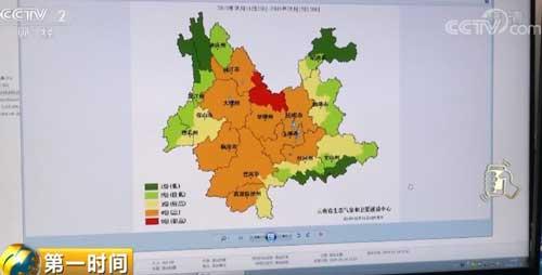 云南多地持续高温无降水 农业部门积极应对