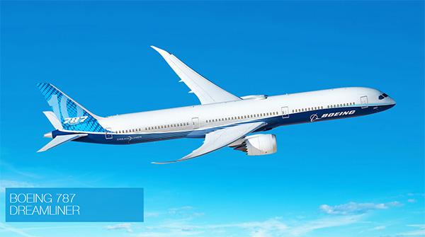 波音787飞机 波音公司官网 图