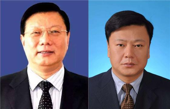 朱辉(左) 于传勇(右)