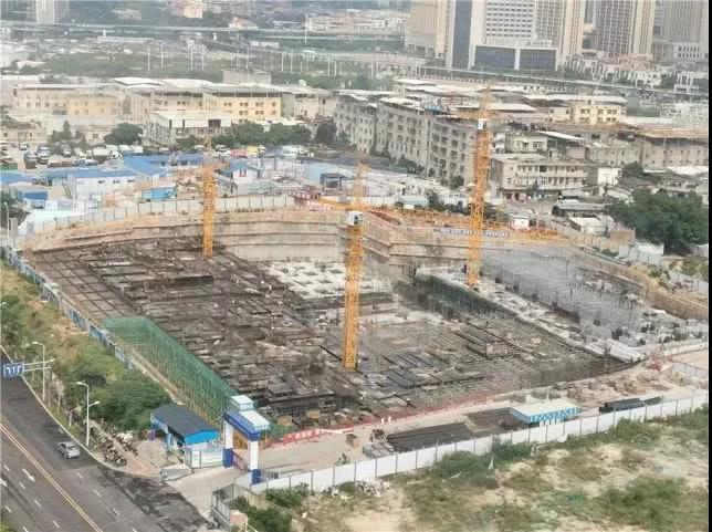 截至7月底,项目正在进行主体工程施工