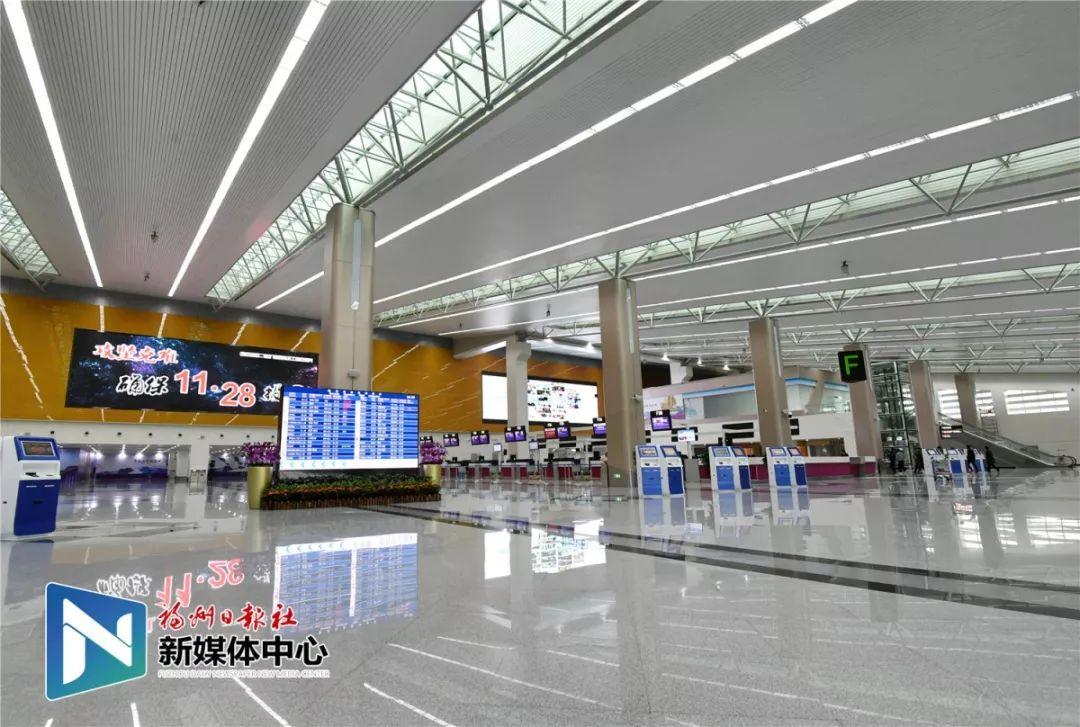 福州长乐国际机场国内值机大厅