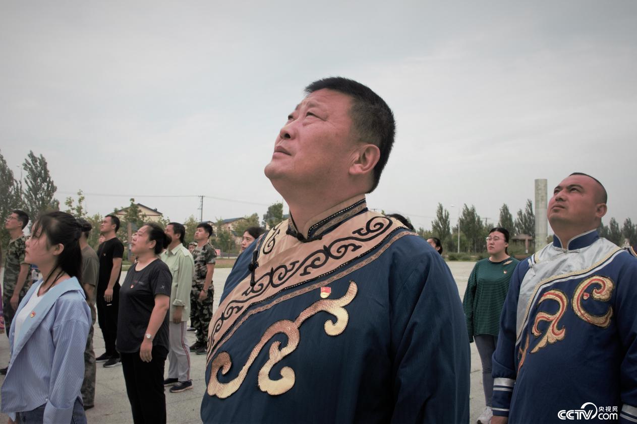 八岔村党支部书记尤明国(何川 摄)