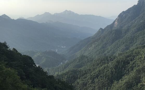 大别山国家森林步道 安徽金寨县(陈樱 摄影)