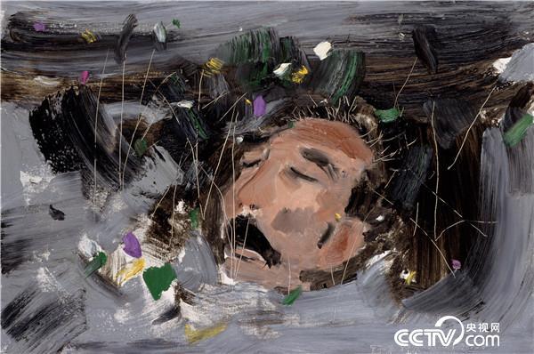 吴冠中 野草 2008年 61×91厘米 油画
