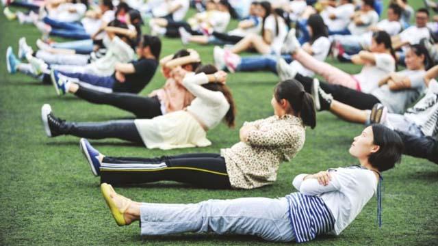 """身體管理應成為大學生的""""必修課"""""""