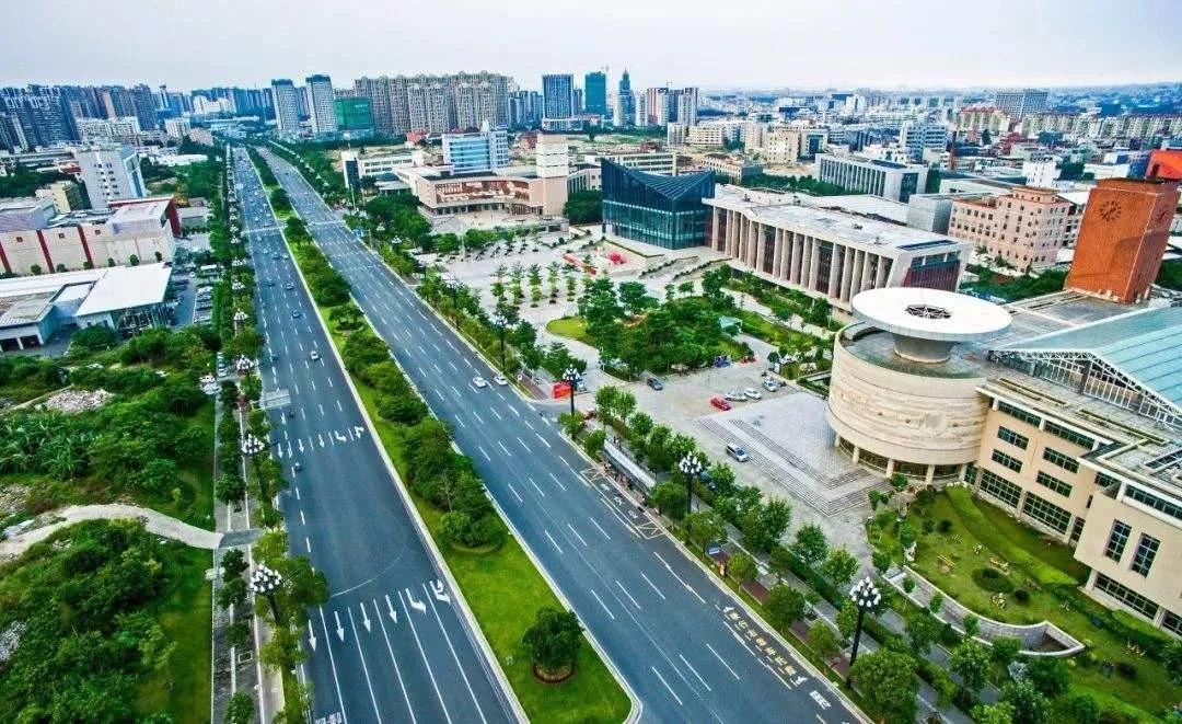 晋江城市风光