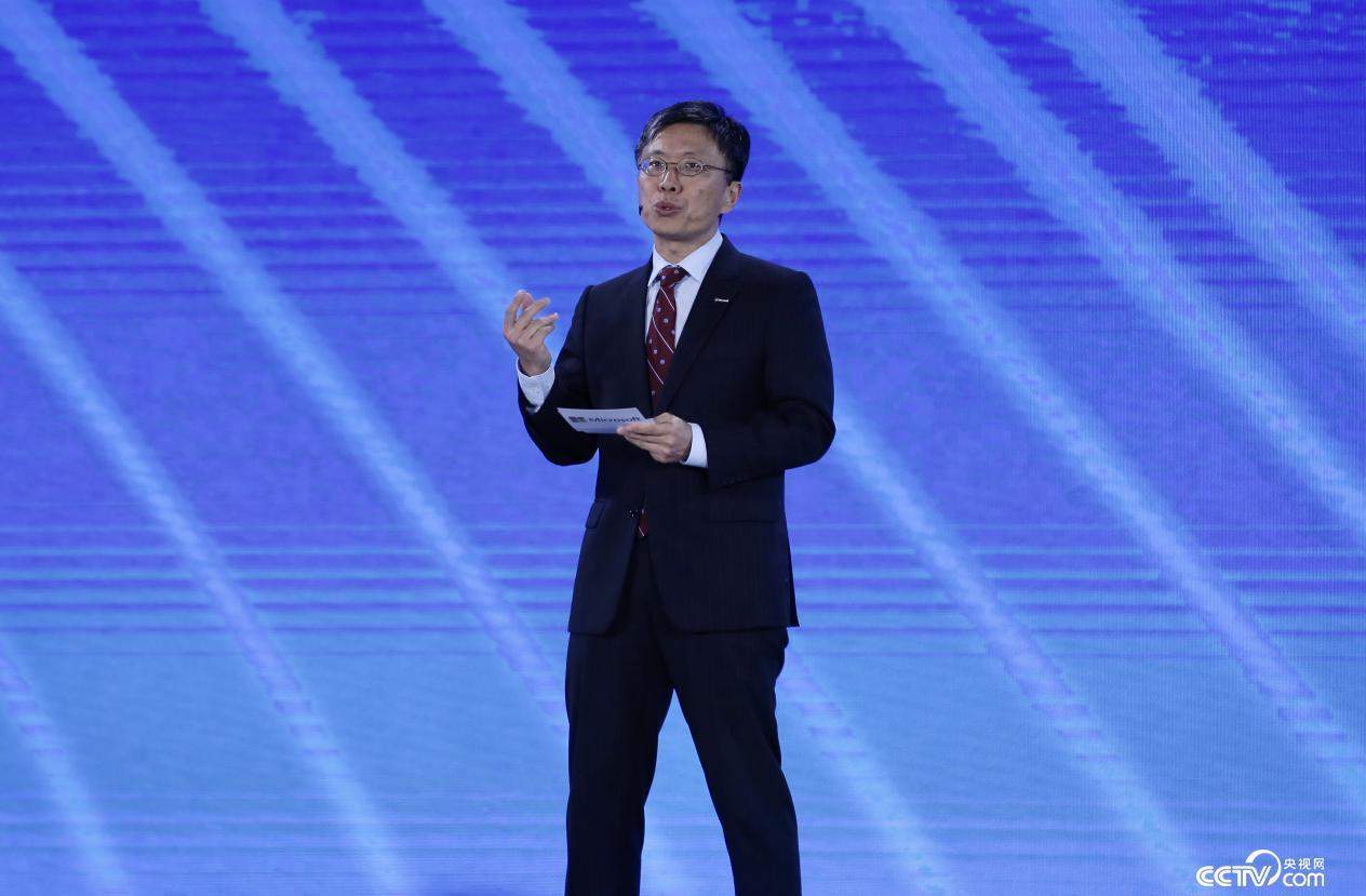 微软公司全球执行副总裁沈向洋