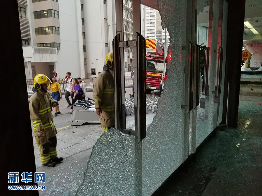 (新華網)(10)新華社亞太總分社辦公大樓遭暴徒打砸破壞