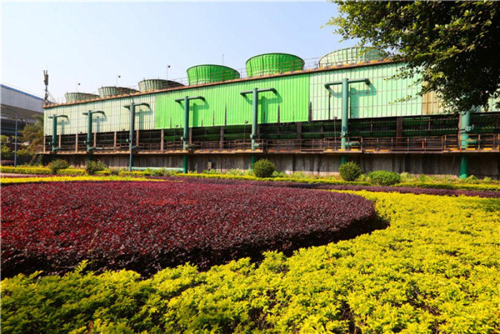 这是11月13日在福建三明拍摄的三钢厂区。新华社记者 龚兵 摄