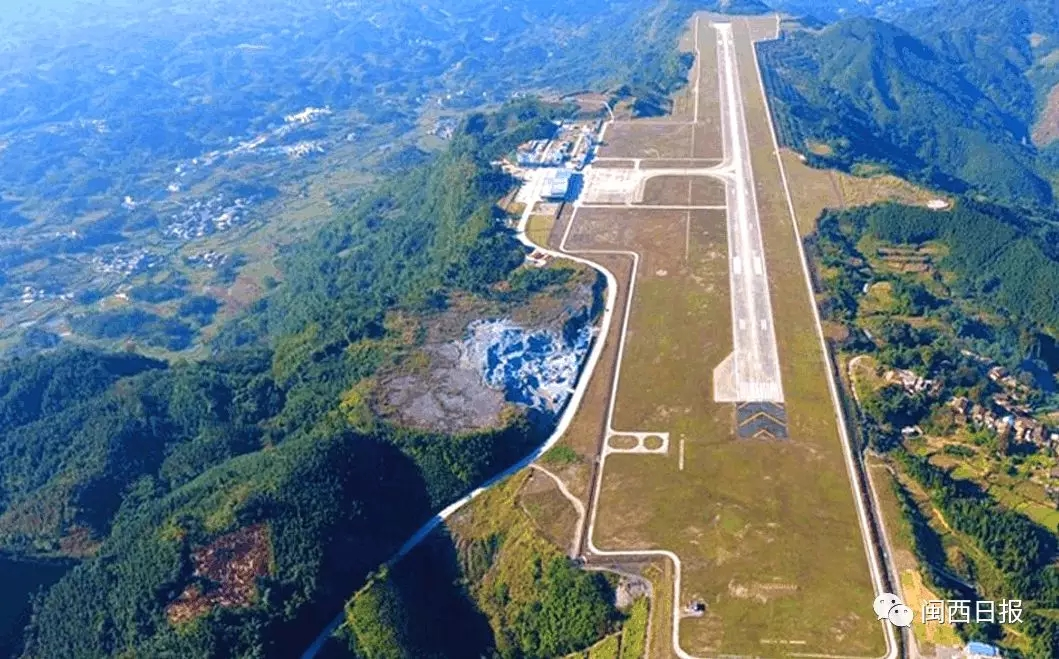 广西河池山顶机场