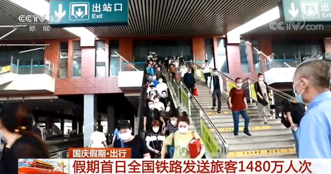 【国庆假期·出行】假期首日全国铁路发送旅客1480万人次