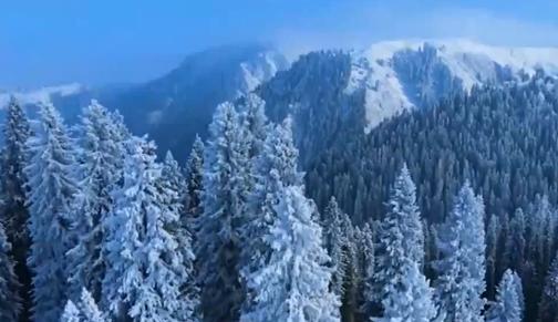 青藏高原新疆北部有降雪 对交通和畜牧产生不利影响
