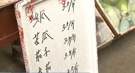记者探访河北石家庄最大蔬菜批发市场 菜价平稳 供应充足