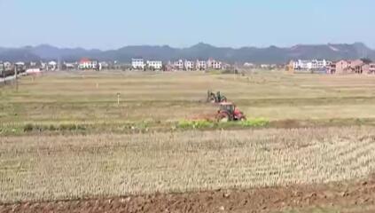 湖南衡阳产粮大县开展春耕作业 确保46万亩早稻播种如期完成