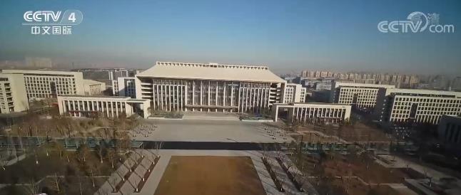 """""""十四五""""时期北京城市副中心城市框架"""