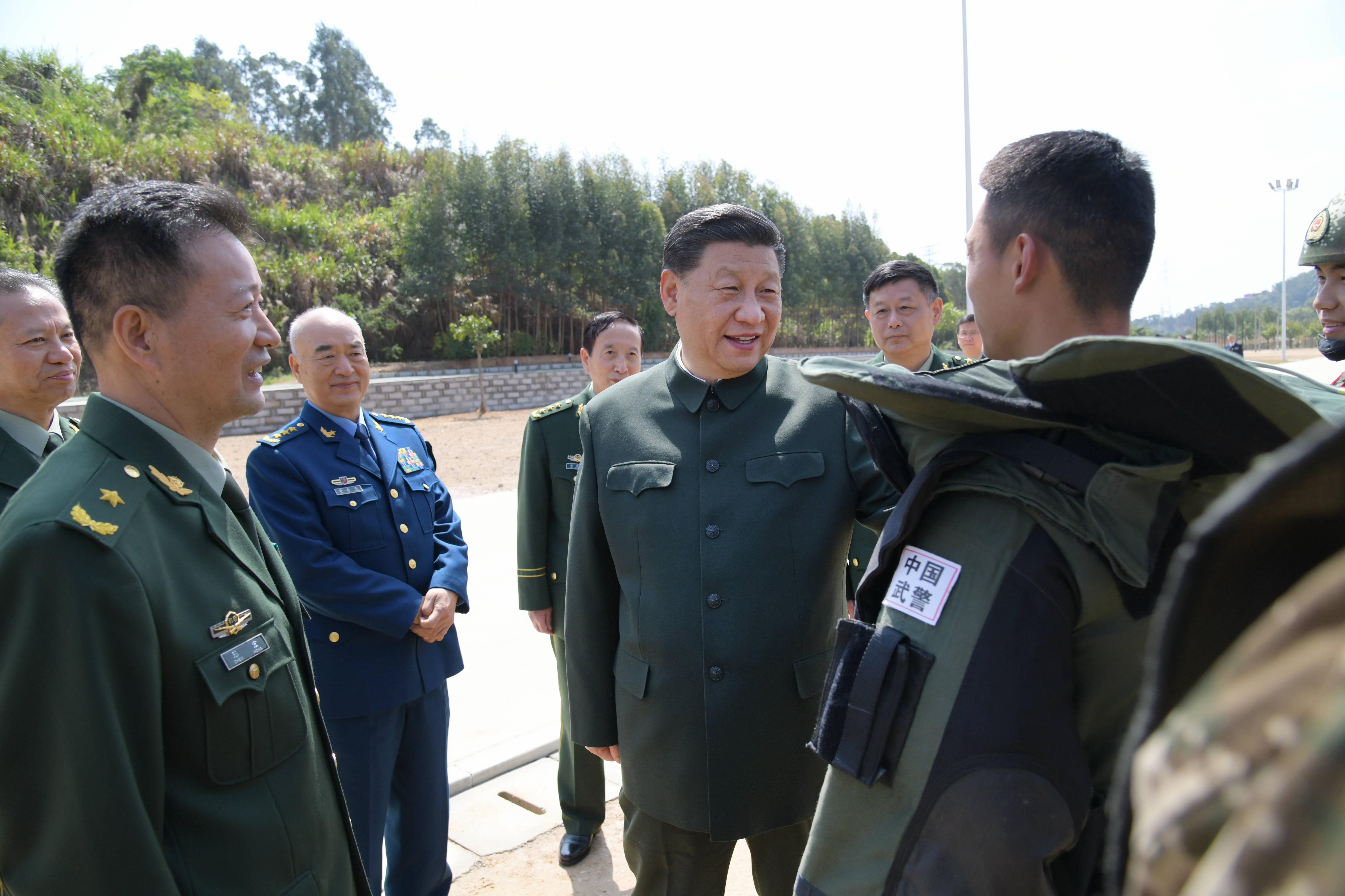 習近平:全面加強練兵備戰 全面提高履行使命任務能力