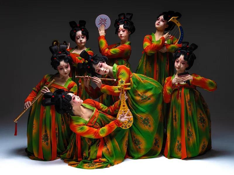 图为舞蹈《唐宫夜宴》宣传图片。 庞东晨 摄